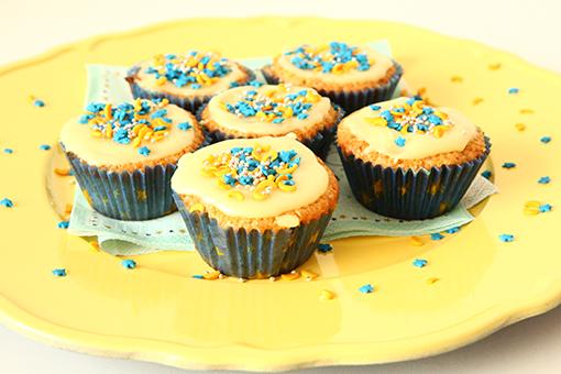 Stars-cupcakes